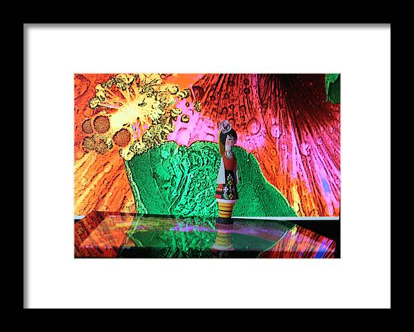 Abstract Framed Print featuring the photograph Dream Walking by Dart and Suze Humeston