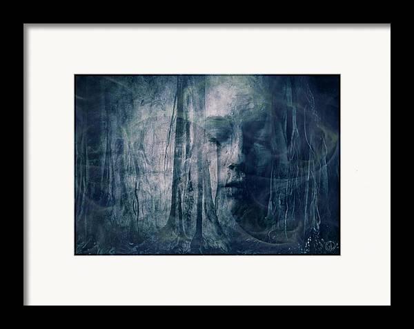 Nature Framed Print featuring the digital art Dreamforest by Gun Legler
