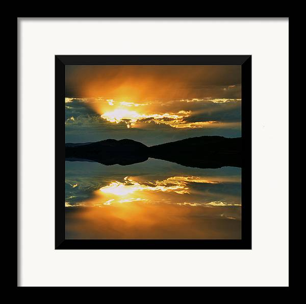 Sunset Framed Print featuring the photograph Dreaming by Kevin Bone