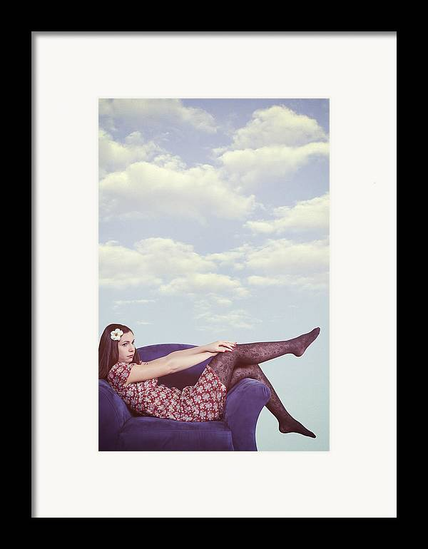 Woman Framed Print featuring the photograph Dreaming To Fly by Joana Kruse