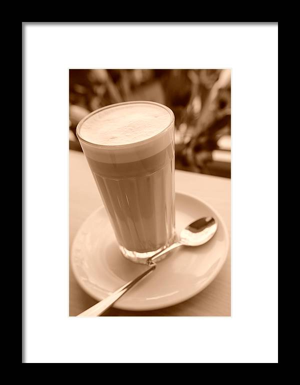 Coffee Framed Print featuring the photograph Dreams Of Coffee by Miguel Winterpacht
