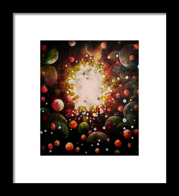 Imaginative Framed Print featuring the painting Dreamtime by Ann Fogarty