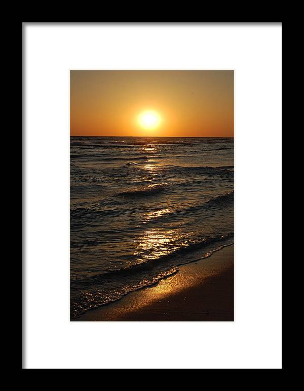 Sunset Framed Print featuring the photograph Dreamy Sunset by May Photography