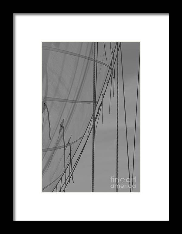 Sailing Framed Print featuring the photograph Drifting by Matti Baars