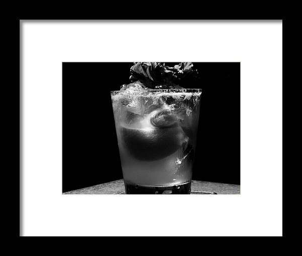 Drinks Framed Print featuring the photograph Drink After Dark by Lyle Barker