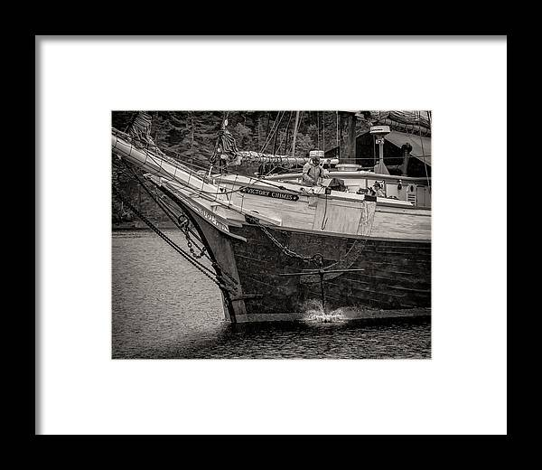 Windjammer Framed Print featuring the photograph Drop Anchor by Fred LeBlanc