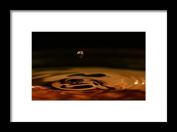 Framed Print featuring the photograph Drop by Justin Hoogeveen