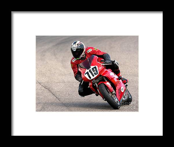 Ducati Framed Print featuring the photograph Ducati No. 719 by Jerry Fornarotto