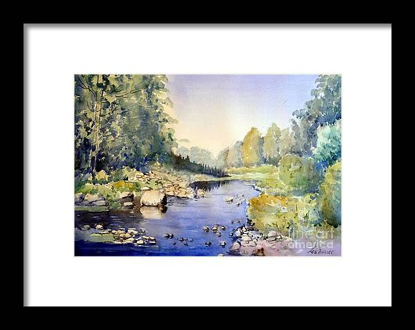 Framed Print featuring the painting Dundas Valley by Les Ducak