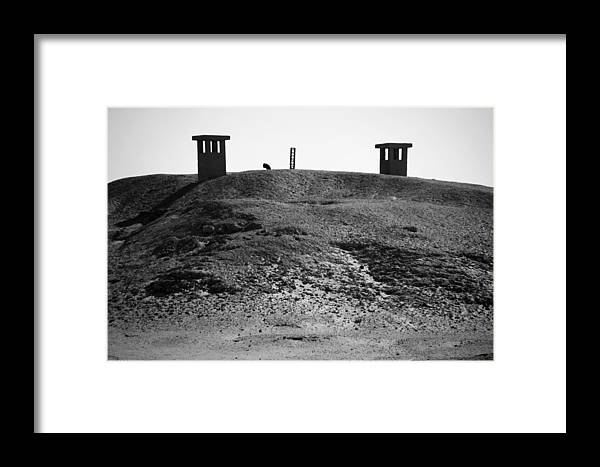 Jezcself Framed Print featuring the photograph Dune Breath by Jez C Self