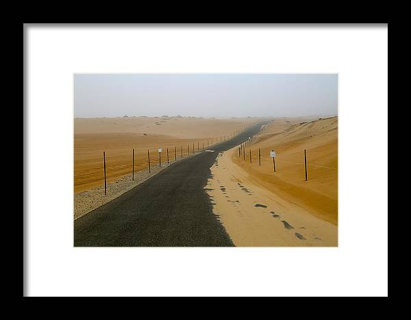 Dunes Framed Print featuring the photograph Dune Road by Marc Levine