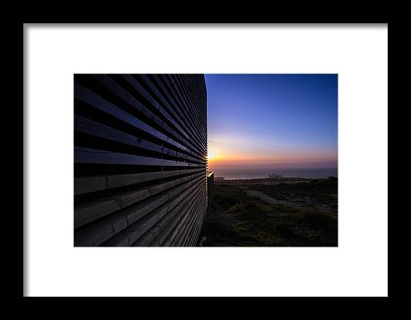 Dune Framed Print featuring the photograph Dunes Sunset by Nuno Valadas