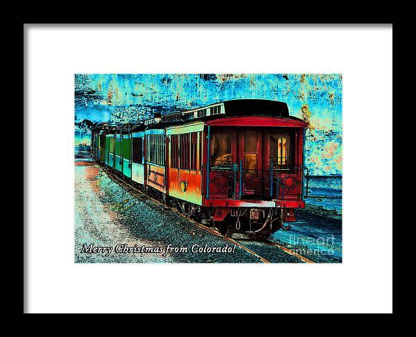 Colorado Framed Print featuring the photograph Durango Colorado Christmas by Janice Pariza