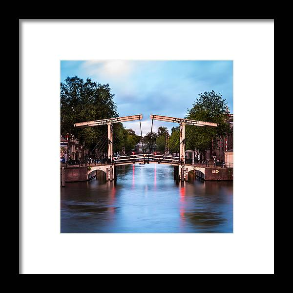 Nl Framed Print featuring the photograph Dutch Bridge by Mihai Andritoiu