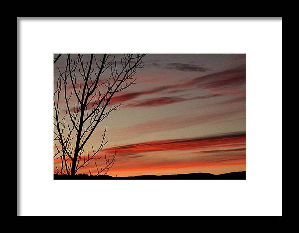 Vail Snow Ski Board Powder Nature Mountains Framed Print featuring the photograph Eagle County Sunset by Nic Vasquez