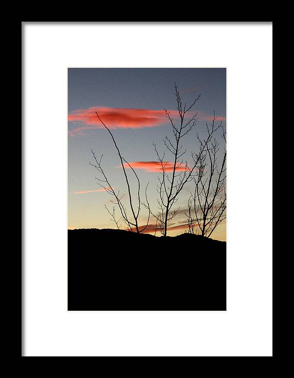 Vail Snow Ski Board Powder Nature Mountains Framed Print featuring the photograph Eagle Sunset by Nic Vasquez