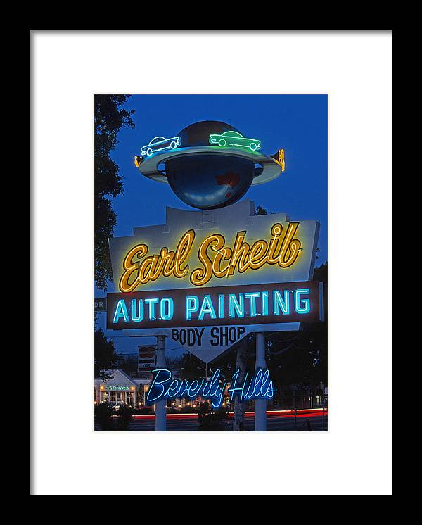 Earl Scheib Neon Bev Hills-1 by Barbara Filet