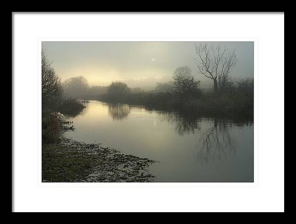 River Framed Print featuring the photograph Early Mist by Colin Bruce