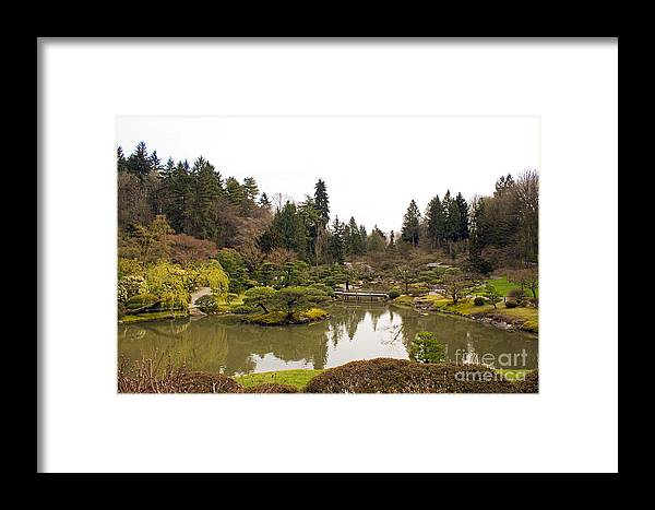 Spring Framed Print featuring the photograph Early Spring In The Garden by Calazone's Flics