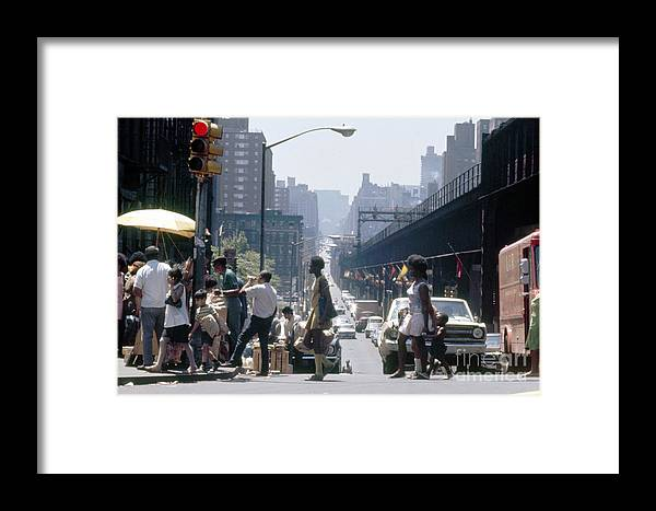 Erik Framed Print featuring the photograph East Harlem by Erik Falkensteen