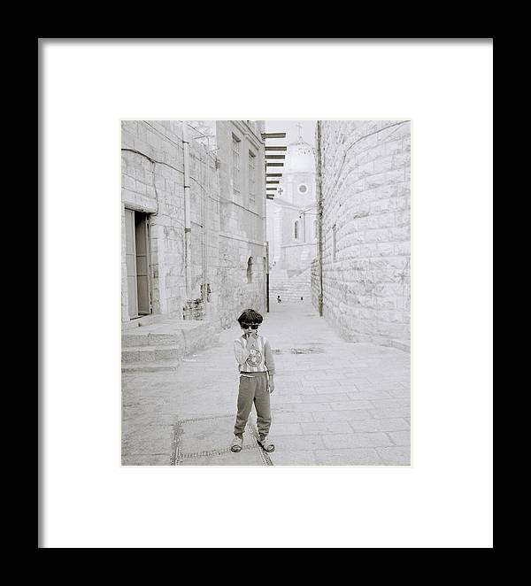 Children Framed Print featuring the photograph Innocence Of Childhood by Shaun Higson