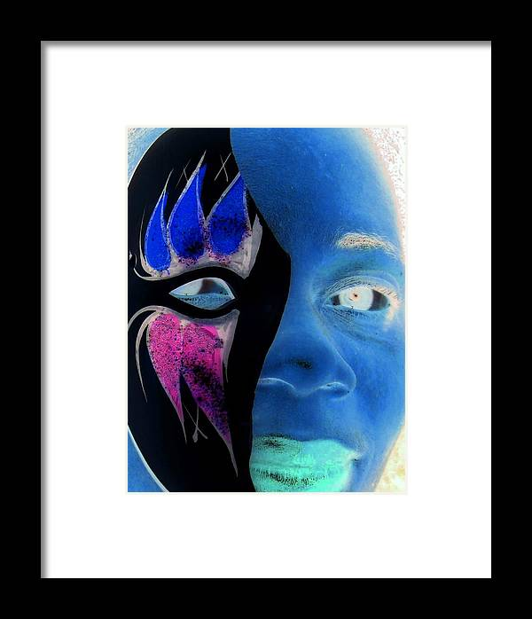 Portrait Framed Print featuring the photograph Eclipse By Darryl Kravitz by Darryl Kravitz