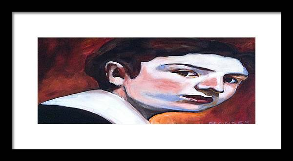 Singer Framed Print featuring the painting Edouard Pailleron by Buffalo Bonker