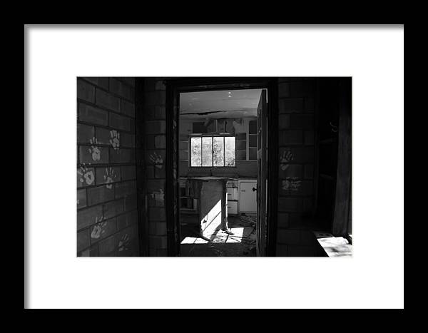 Hand Prints Framed Print featuring the photograph Hands Of Time by David Lee Thompson