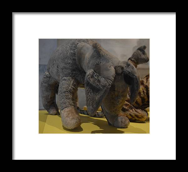 Eeyore Framed Print featuring the photograph Eeyore by Philip Ralley