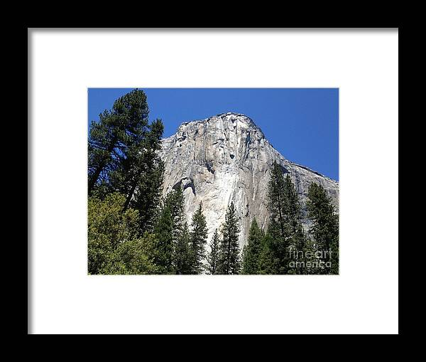 El Capitain Framed Print featuring the photograph El Capitain by Ty Laffoon