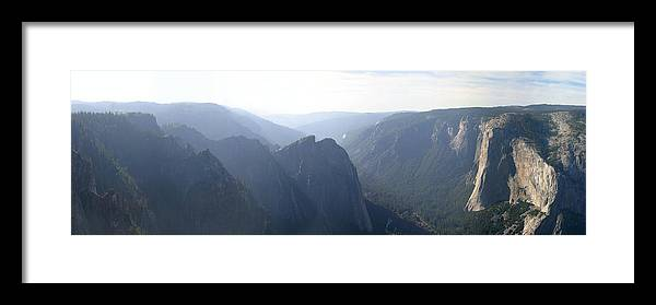 Yosemite Photographs Framed Print featuring the photograph El Capitan by Gary Lobdell