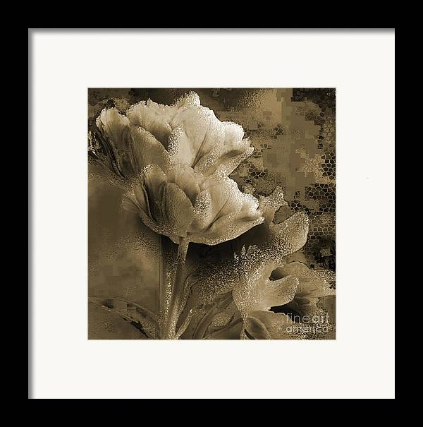 Framed Print featuring the mixed media Elegance by Yanni Theodorou