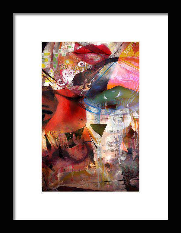 Abstract Framed Print featuring the photograph Elements Of Estrogen by The Artist Project
