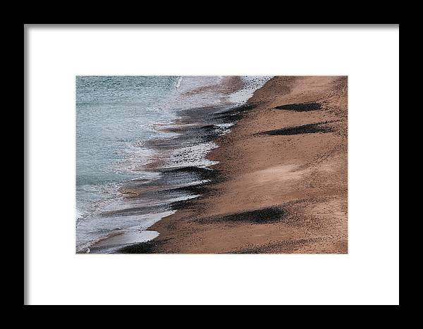 Magdalen Islands Framed Print featuring the photograph Elements by PNDT Photo