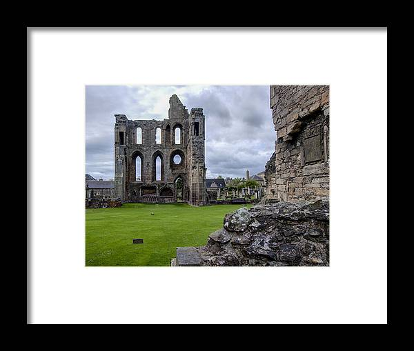 Elgin Framed Print featuring the photograph Elgin Cathedral Community - 4 by Paul Cannon