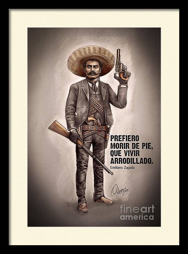 Emiliano Zapata by Claudio Osorio