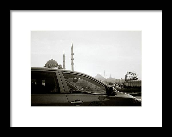 Istanbul Framed Print featuring the photograph Eminonu Life by Shaun Higson