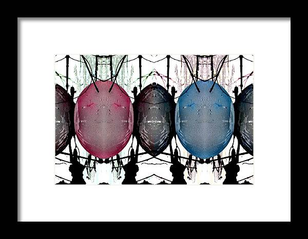 Abstract Framed Print featuring the photograph Emotions by Nicki Bennett