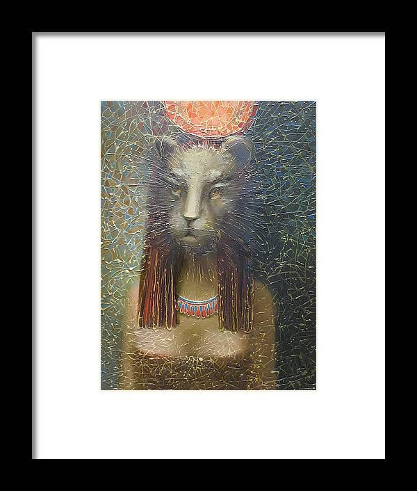 Egypt Framed Print featuring the painting Empress by Valentina Kondrashova