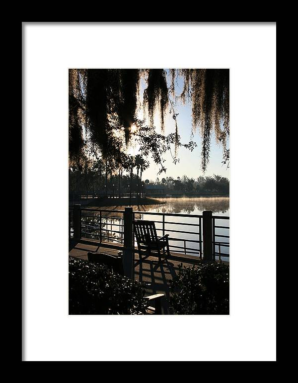 Chair Framed Print featuring the photograph Empty Chair by David Kacey