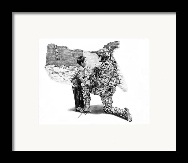 Empty Pockets Framed Print featuring the drawing Empty Pockets by Peter Piatt