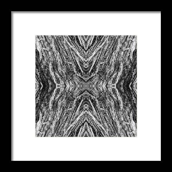 Abstract Framed Print featuring the photograph Enbark by Lora Perkins