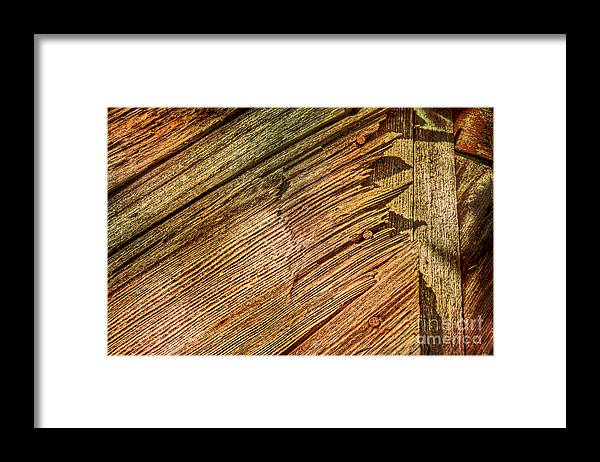 Wood Framed Print featuring the photograph End Game by The Stone Age