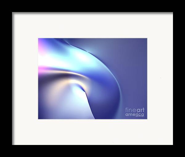Infinite Framed Print featuring the painting End Of Nothingness by Christian Simonian