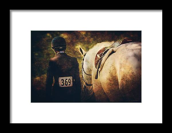 Digital Photography Framed Print featuring the photograph End Of The Day by Lyndsey Warren