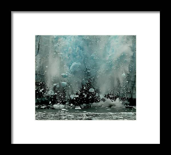 End Framed Print featuring the photograph End Of The World ? by Yair Tzur