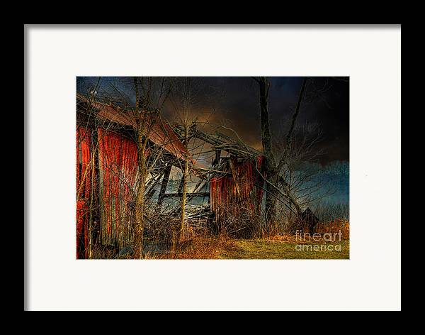 Dystopia Framed Print featuring the photograph End Times by Lois Bryan
