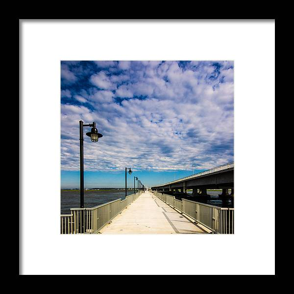 Pier Framed Print featuring the photograph Endless Pier by Kevin Jarrett