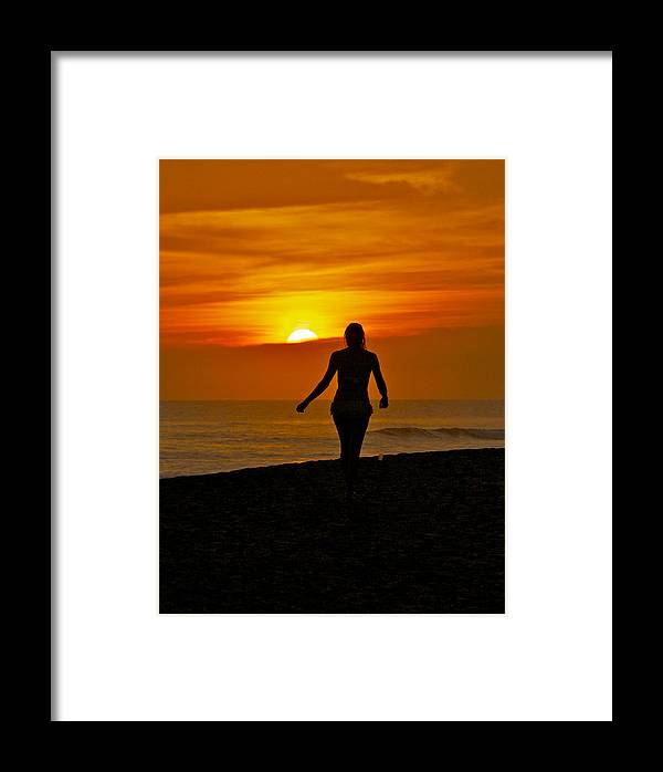 Beach Framed Print featuring the photograph Endless Summer Nicaragua by Jay Campbell