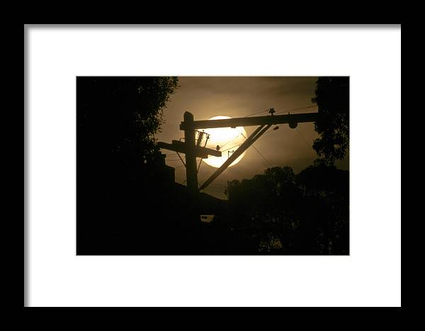 Planet Framed Print featuring the photograph Energy Free For The Taking by Scott Lenhart